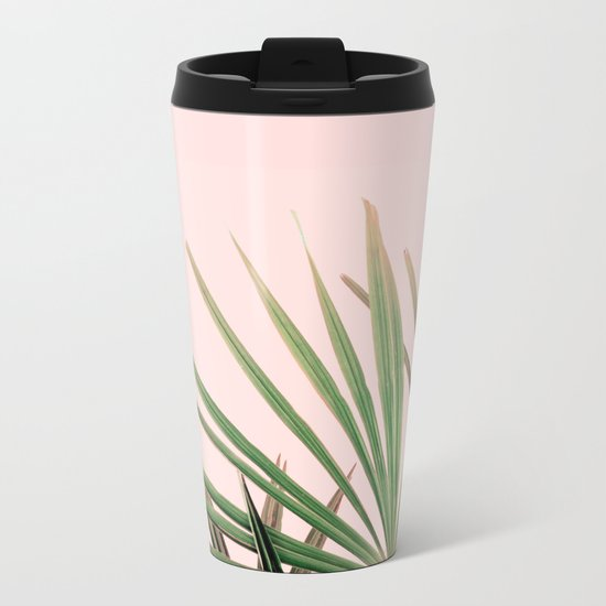 Palms blossom Metal Travel Mug