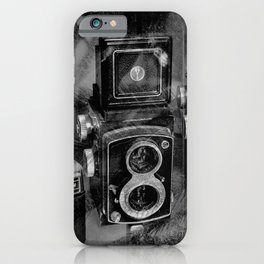 vintage photography iPhone Case