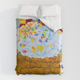 Still Life with Fruity Pebbles French Toast Comforters