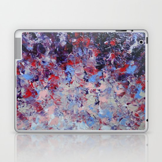 HYPNOTIC SAILOR'S SUNRISE - Stunning Sunset Sunrise Nature Beauty Plum Purple Magenta Ombre Laptop & iPad Skin