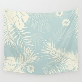 Tropical pattern 050 Wall Tapestry