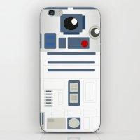 starwars iPhone & iPod Skins featuring StarWars - R2D2 by Sarrah Frie