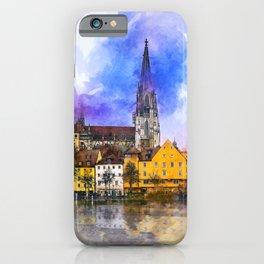 Regensburg iPhone Case