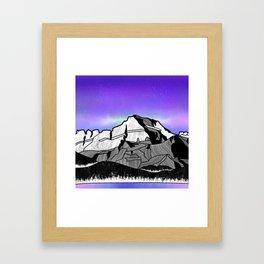 Mount Gould Montana Framed Art Print