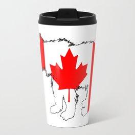 Canada Bear Cub Travel Mug