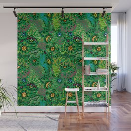 Surreal pattern (color) Wall Mural