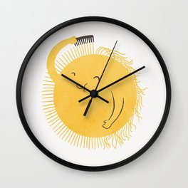 Good Morning, Sunshine Wall Clock