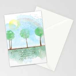 Always it's spring Stationery Cards