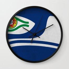 Portuguese Hawks culture Wall Clock