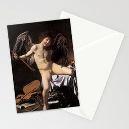 "Michelangelo Merisi da Caravaggio ""Amor Vincit Omnia"" Stationery Cards"