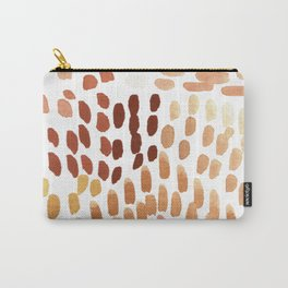 Colorful City Dots Abstract Painting Carry-All Pouch