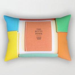 The Betty Book Rectangular Pillow