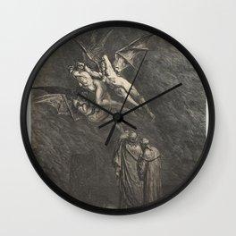 DANTE's INFERNO - The Divine Comedy Wall Clock