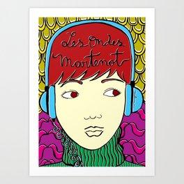 Les Ondes Martenot Art Print