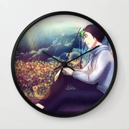 4000 rainy nights - Markiplier and Jacksepticeye Wall Clock