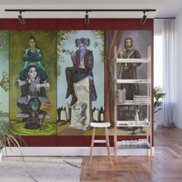 The Haunted Nein Wall Mural