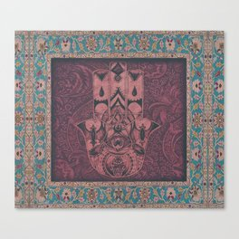 New Century Hamsa IV Canvas Print