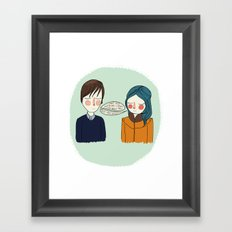 I Can't See Anything I Don't Like About You Framed Art Print