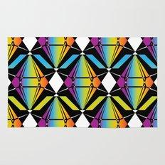 Abstract [RAINBOW] Emeralds pattern Rug