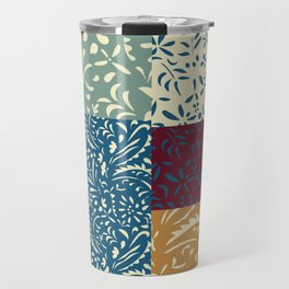 Damask Quilt Travel Mug