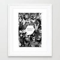 godard Framed Art Prints featuring Nouvelle Vague by Dima Tannir