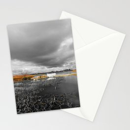 A Moody Winter's Day Stationery Cards