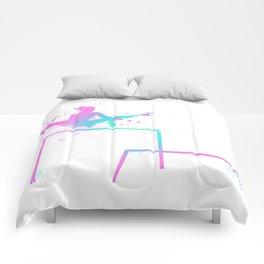 Gymnast - Bars Comforters