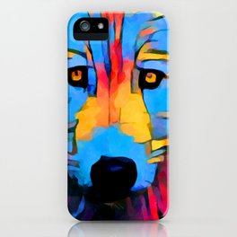 Wolf 4 iPhone Case