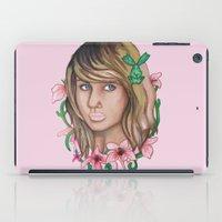 legend of korra iPad Cases featuring Korra by Papa-Paparazzi