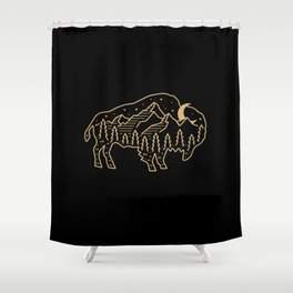 Nature of the Beast (2) Shower Curtain