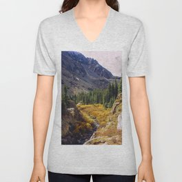 Autumn in Colorado Unisex V-Neck