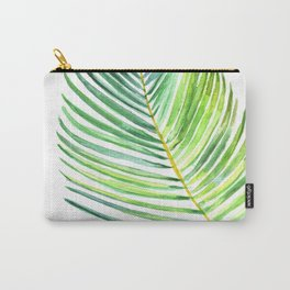 Watercolor palm leaf Carry-All Pouch