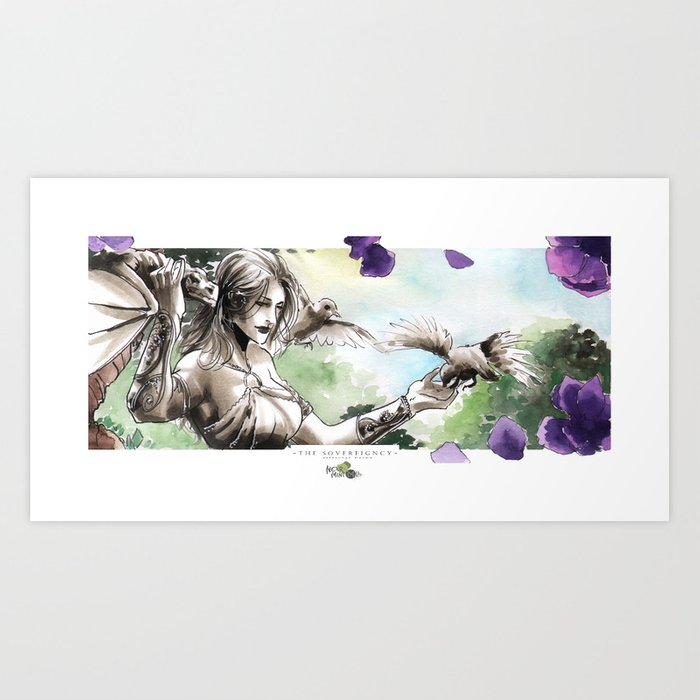 Kira Art Print