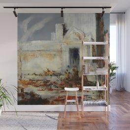"""Gustave Moreau """"Hélène à la porte de Scée"""" Wall Mural"""