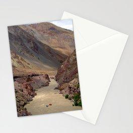 Rafting on the Zanskar River Stationery Cards
