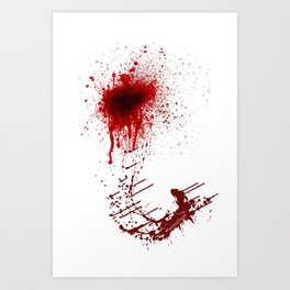 Right In Front Of My Hook?! Art Print
