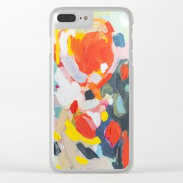 Color Study No. 6 Clear iPhone Case