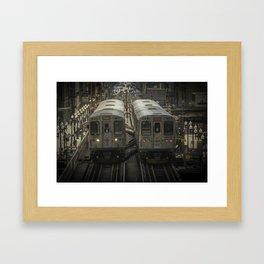 Double 'El's Framed Art Print