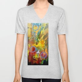 I Dance Boundless Through Space and Time Unisex V-Neck