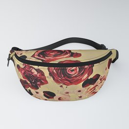 Floating Flowers #bouquet#watercolor Fanny Pack