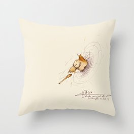 #coffeemonsters 497 Throw Pillow