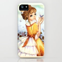 Summer-girl iPhone Case