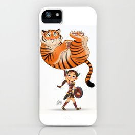 Little Gladiator iPhone Case
