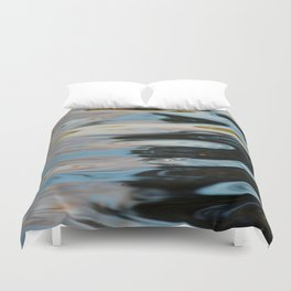 Abstract Water Surface Duvet Cover