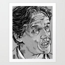 Gary Busey Art Print