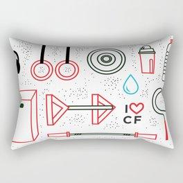 CrossFit Love Rectangular Pillow