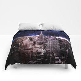 New York City : Parallel Dimension Comforters