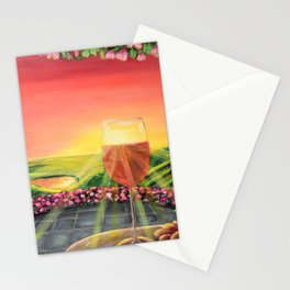 Wine Time in the Fergusson Stationery Cards