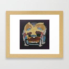 Gin Mill Cowboy Framed Art Print
