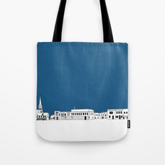 Whitewater Wisconsin Cityscape Illustration Cartoon Tote Bag